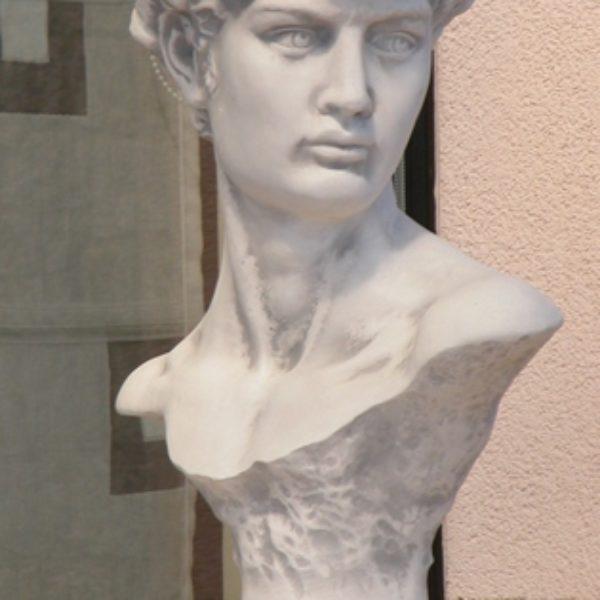 popiersie Dawida rzeźba