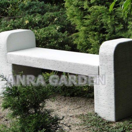 Ławka betonowa prosta