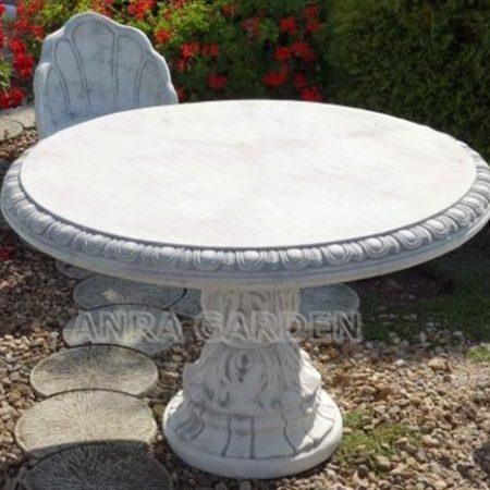Stół okrągły betonowy