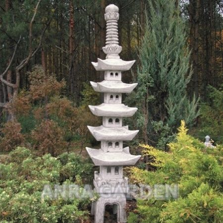 Lampa ogrodowa pagoda 614