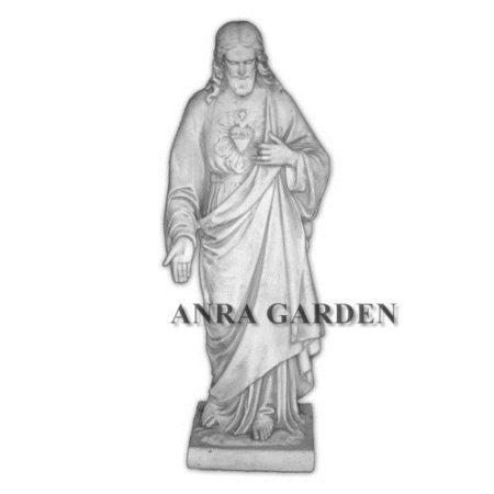 Figura sakralna Pana Jezusa wysokość 117 cm