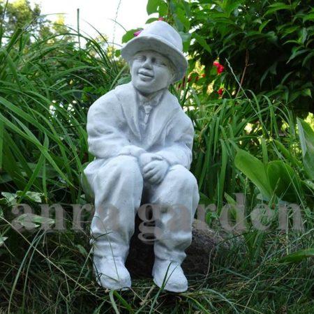 Figura ogrodowa betonowa - dziadek