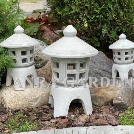 Pagoda , lampa ogrodowa kpl. 3 sztuk